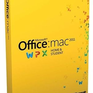 Office Mac 2011 Home & Student